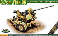 Flak.36 3.7cm. AA gun with Sd.Ah.52 carriage trailer #AMO72570