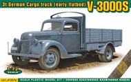 V3000S 3-Ton German Cargo Truck (Early Flatbed) (New Tool) #AMO72576