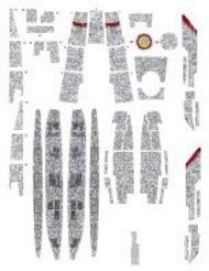 ACREATION MODELS  1/4105 Battlestar Galactica BS75 Deluxe Aztec Decals for MOE ACL146