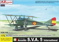 Admiral Models  1/72 Ansaldo SVA 5 International. Decals USAAC 192 ADM72026