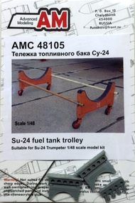 ADVANCED MODELING  1/48 Su24 Fuel Tank Trolley for TSM (D)<!-- _Disc_ --> AOD48105
