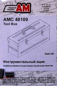 ADVANCED MODELING  1/48 Tool Box (2) for Soviet Aircraft (D)<!-- _Disc_ --> AOD48109