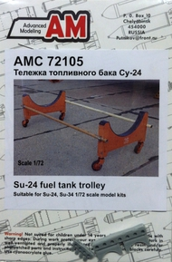 ADVANCED MODELING  1/72 Su24 Fuel Tank Trolley for TSM (D)<!-- _Disc_ --> AOD72105