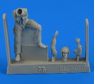 AeroBonus by Aires  1/48 Warshaw Pact Aircraft Mechanic #1 (Sitting) ABN480165