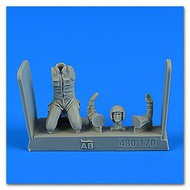 AeroBonus by Aires  1/48 Warshaw Pact Aircraft Mechanic #6 (Kneeling) ABN480170