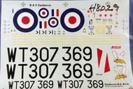 Aeroclub Models  1/48 Canberra B(I).6 Decals. 139 AED48029