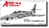 Aeroclub Models  1/144 RF-84F AEK602