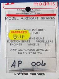 "Aeroclub Models  1/72 HOFFMAN WOODEN 2 BLADE 6'6"" L/H AEP006"