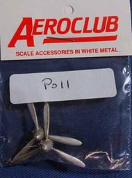 Aeroclub Models  1/72 2 DH 3 blade metal AEP011