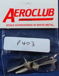 DH. Metal 2 Blade 7'6' Dia. R/H Propellers #AEP403