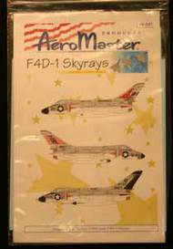 Aeromaster Products  1/48 F4D-1 Skyrays Pt.1 AES48541