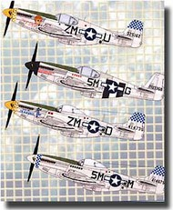 Aeromaster Products  1/72 Southern European Mustangs Pt. II AES72216