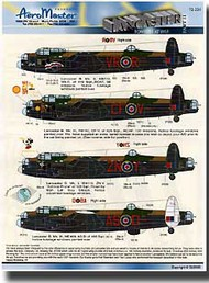 Aeromaster Products  1/72 Lancaster Bombers At War, Pt II AES72224