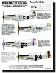 Aeromaster Products  1/48 P-51D/K Mustang Pacific Theatre AES48012