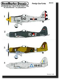 Aeromaster Products  1/48 Sea Fury (Foreign) AES48013