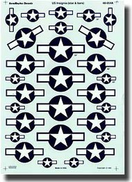 Aeromaster Products  1/48 US Insignia (Stars/Bars) AES48054