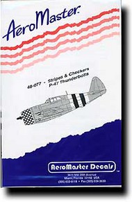 Aeromaster Products  1/48 Checkers and Stripes (P-47) AES48077