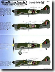 Aeromaster Products  1/48 Storms in the Sky Part 5: Tempests AES48328
