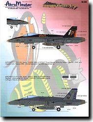 Aeromaster Products  1/48 Stinging Hornets Pt.V (F/A-18) AES48484
