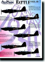 Aeromaster Products  1/48 Fairey Battle 1938-1940 AES48495