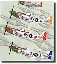 Aeromaster Products  1/48 Green Nose Mustangs of East Wretham Part V AES48652
