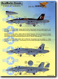 Aeromaster Products  1/72 Stinging Hornets Pt.III AES72173
