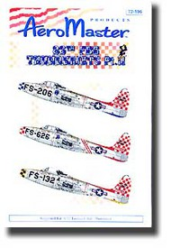 Aeromaster Products  1/72 86th FBG Thunderjets Pt.II AES72196