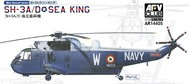 AFV Club  1/35 1/144 SH3A/D Sea King Helicopter (2 Kits) AFV14405