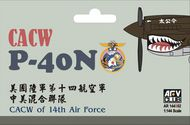 AFV Club  1/144 Curtiss P-40N CACW 14th Air Force AFV144S02