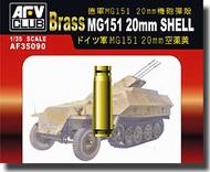 AFV Club  1/35 MG151 20mm Ammo Shells, Brass AFV35090