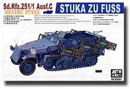 AFV Club  1/35 German Sd.Kfz.251/1 Ausf C Stuka Zu Fuss Heavy Rocket Carrier AFV35091