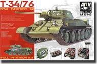 AFV Club  1/35 T-34/76 1942 Factory 112 With Full Interior AFV35143