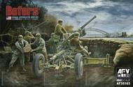AFV Club  1/35 Bofors 40mm Aa Gun AFV35163
