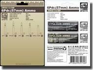AFV Club  1/35 6 Pdr.(57mm) Ammo AFV35174