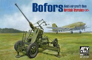 AFV Club  1/35 British Bofors 40mm Mk III Late Anti-Aircraft Gun AFV35187