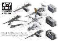 Us M2Hb .50cal Mg Set #AFV35246