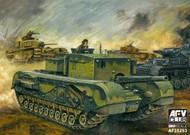AFV Club  1/35 British Churchill Tank w/3 inch 20CWR Gun AFV35253