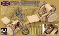 AFV Club  1/35 British Rota Trailer w/2-Pdr Ammo Set AFV35264