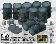 AFV Club  1/35 German 20L & 200I Fuel Drums AFV35266