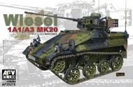 AFV Club  1/35 Wiesel 1 A1/A3 Fire Support Version Armored Tracked Vehicle w/Mk 20 Gun AFV35275