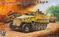 Stummel Sd.Kfz 251/9 Ausf D 7.5cm Kwk 37 Low Velocity Early Halftrack #AFV35278