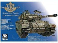 AFV Club  1/35 1/35 Sho't Kal Dalet Type II IDF Tank (Operation Peace for Galilee 1982) AFV35282