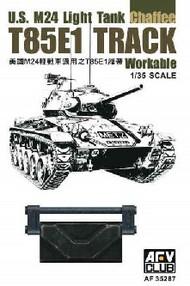 AFV Club  1/35 T85E1 Workable Track Links for US M24 Light Tank AFV35287