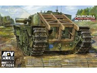 AFV Club  1/35 Churchill Mk IV AVRE (Armored Vehicle, Royal Engineers) Tank w/Fascine Carrier Frame AFV35288