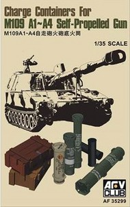 AFV Club  1/35 Propellant Charge Containers for M109 A1/A4 Self-Propelled Gun AFV35299