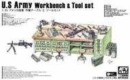 AFV Club  1/35 US Army Workbench & Tool Set - Pre-Order Item AFV35302