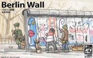 AFV Club  1/35 Berlin Wall Section (3 Units) (New Tool) AFV35317