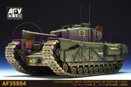 British Churchill Mk III Infantry Tank w/Ordance QF 75mm Mk V Gun #AFV35S54