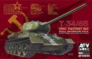 T-34/85 Mod 1944 Factory No.183 Tank Full Interior w/Transparent Turret #AFV35S55
