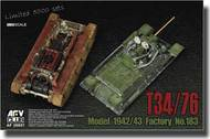 AFV Club  1/35 Russian T-34/76 Tank Model 1942/43 Factory No.183 AFV35S57